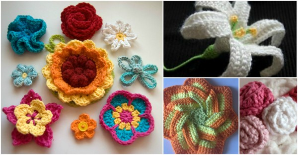 Crochet Flowers - 10+ Free Crochet Patterns