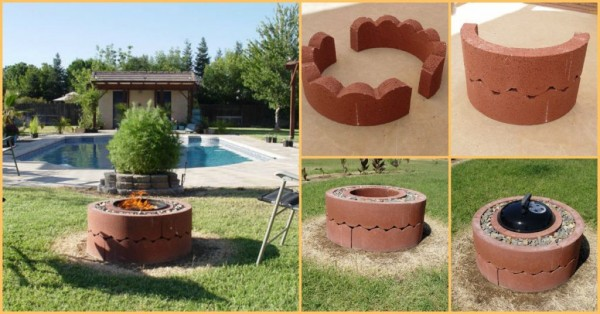 DIY Fire Pit For $55