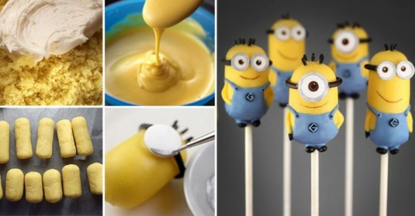 Despicable Me Minions Cake  Pops