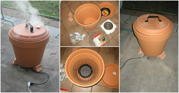 How To Build A Smoker Out Of Clay Pots