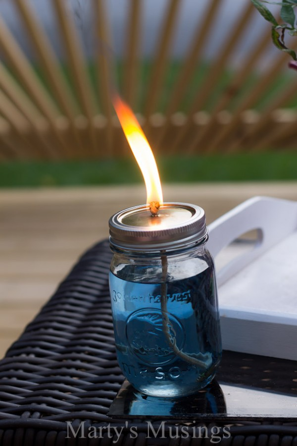 How to Make Citronella Candles 1
