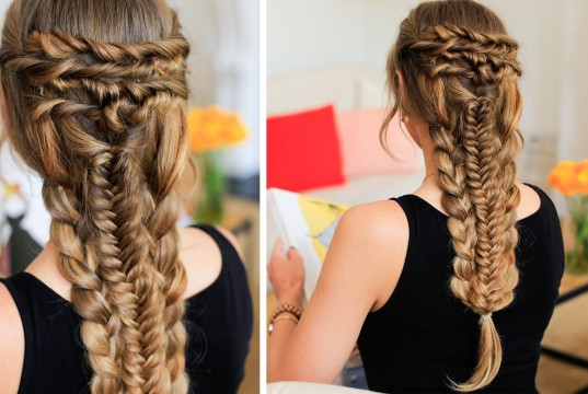 Layered Braid Hairstyle Tutorial