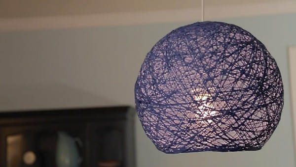 Lighting Fixtures Made Out Of Yarns