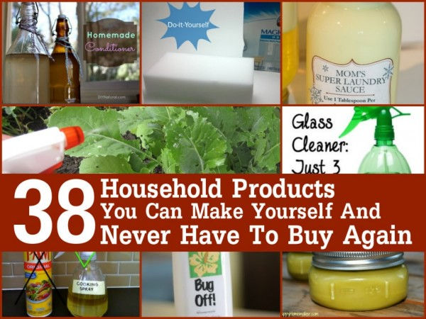Make These Household Products And Never Buy Them Again