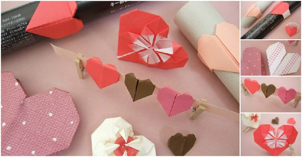 Origami Heart Collections