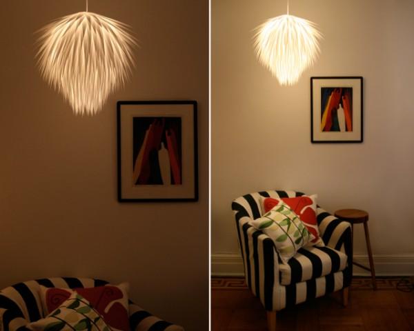 Paper Starburst Pendant Lighting 1