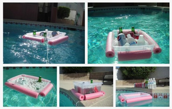 Pool Noodle Beverage Cooler 4