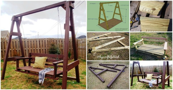 Porch Swing Plan And Tutorial