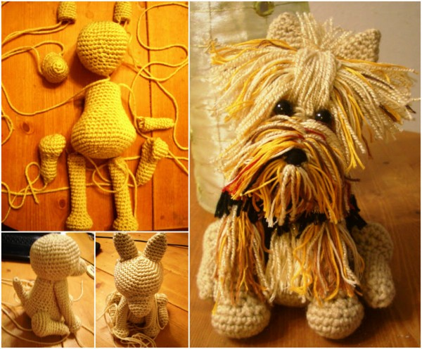 Yorkie Dog Crochet Patterns 1