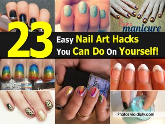 23 Easy Nail Art Hacks You Can Do On Yourself