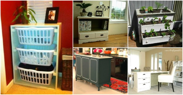 Creative Ways To Re-purpose A Dresser