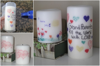 DIY Personalized Candles 1