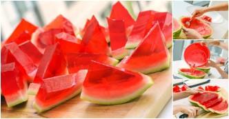 How To Make Watermelon JellO Shots