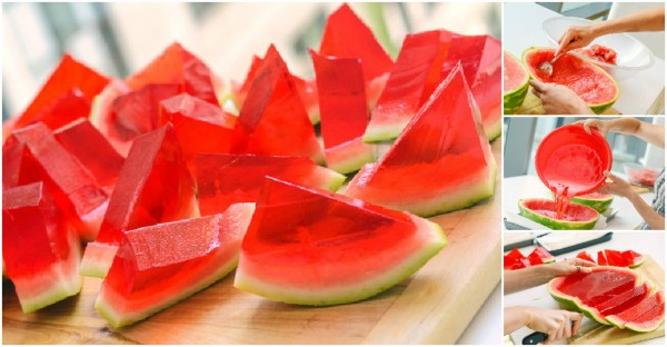How To Make Watermelon JellO Shots
