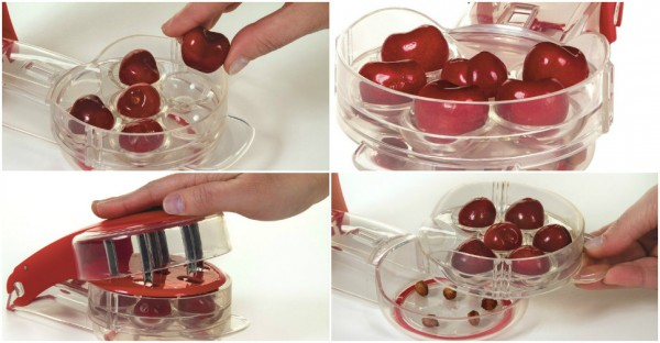 How To Pit Cherries Without A Pitter 1