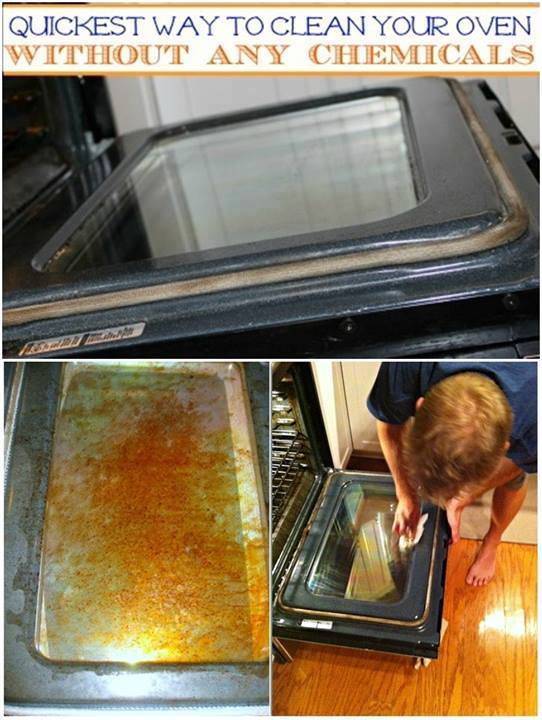 How to Clean An Oven Quick And Without Using Chemicals