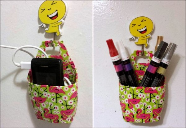 Multi-purpose Holder from Lotion or Shampoo Bottles