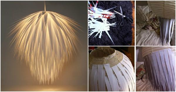 Paper Starburst Pendant Lighting