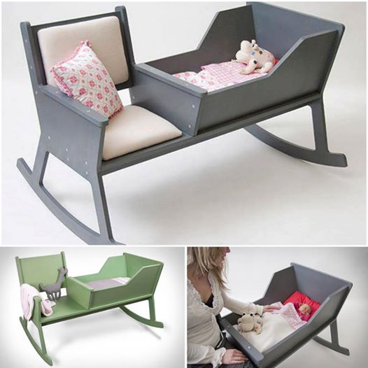 Rocking Chair Cradle 1