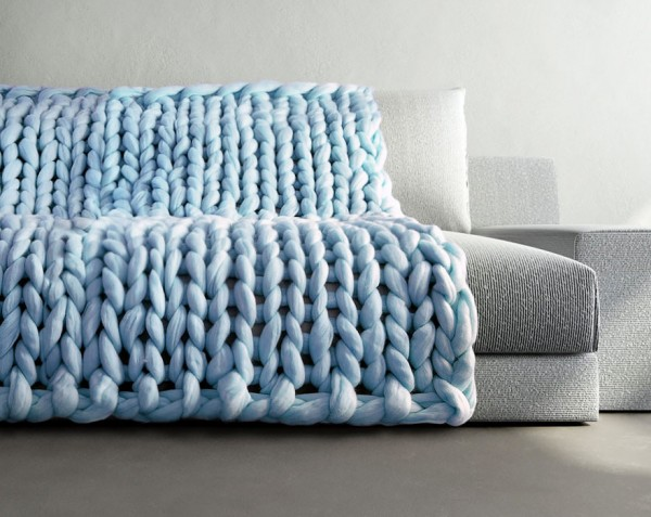 Super Chunky Knit Blanket 3