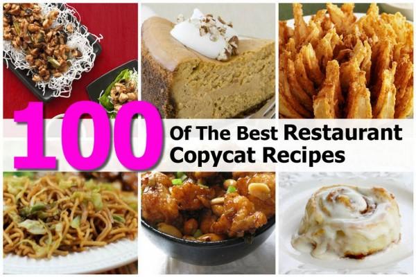 100 Best Restaurant Copycat Recipes