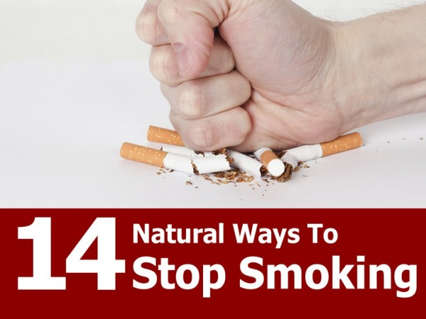 14 Natural Ways To Stop Smoking