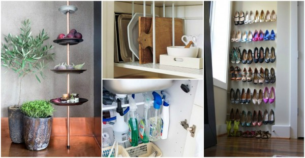 15 Clever Uses For Tension Rods How To Instructions