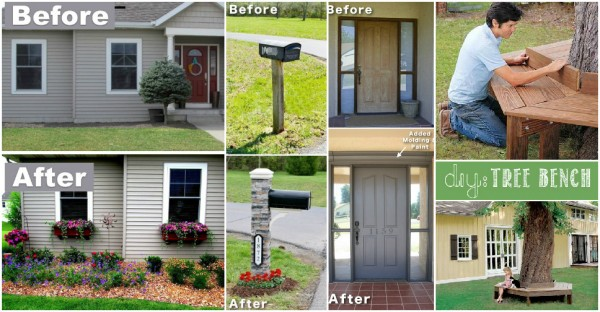 17 Foolproof Ways To Improve Curb Appeal Of Your Home