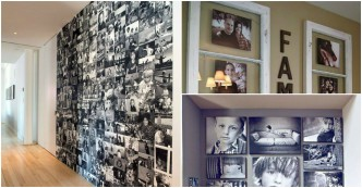 25 Creative Ways To Display Family Pictures 1