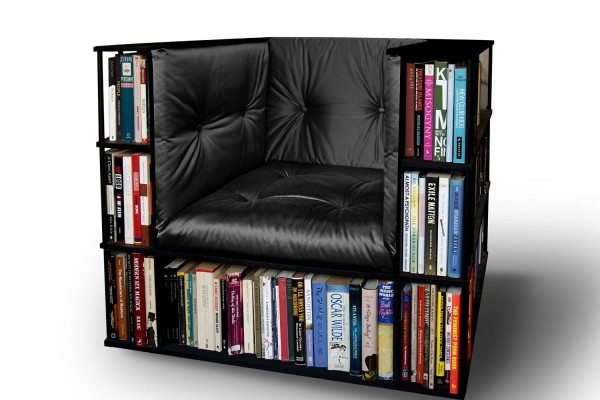 Do It Yourself Home Design: How To Build A Bookcase Chair – Creative Build Plan