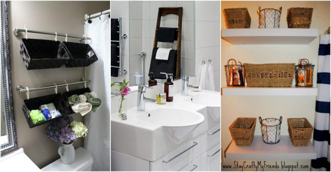 I Have Found An Excellent List Over At Homemade Home Ideas That Covers 18  Ways To Add More Storage Space To Your Bathroom. Some Of These Wonderful  Tips ...