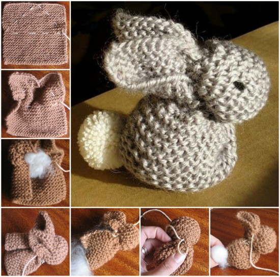 Cute Bunny Knitting Tutorial How To Instructions