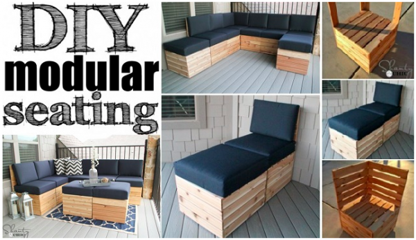 DIY Modular Seating