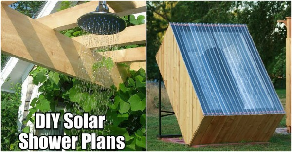 DIY Solar Shower Plans