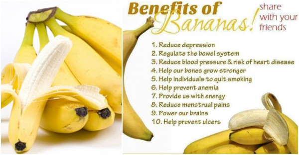 Health Benefits Of Bananas 1