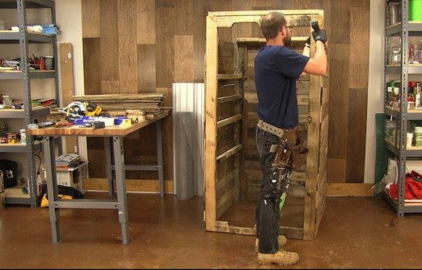 How To Build A Smokehouse From Pallets