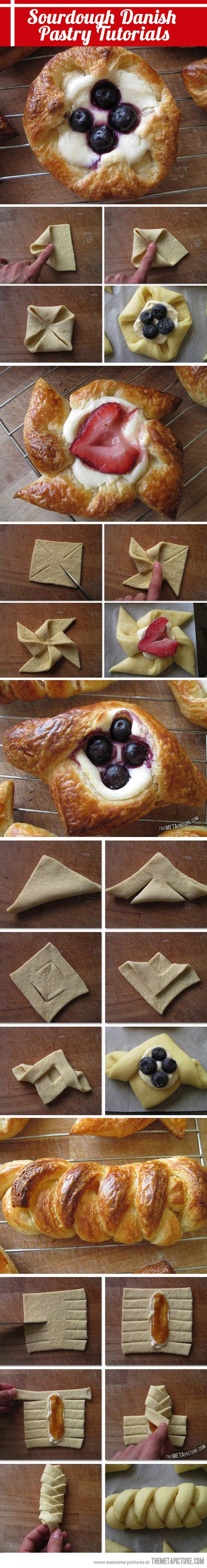 How To Do Pastry Right ... Sourdough Danish Pastry Tutorials