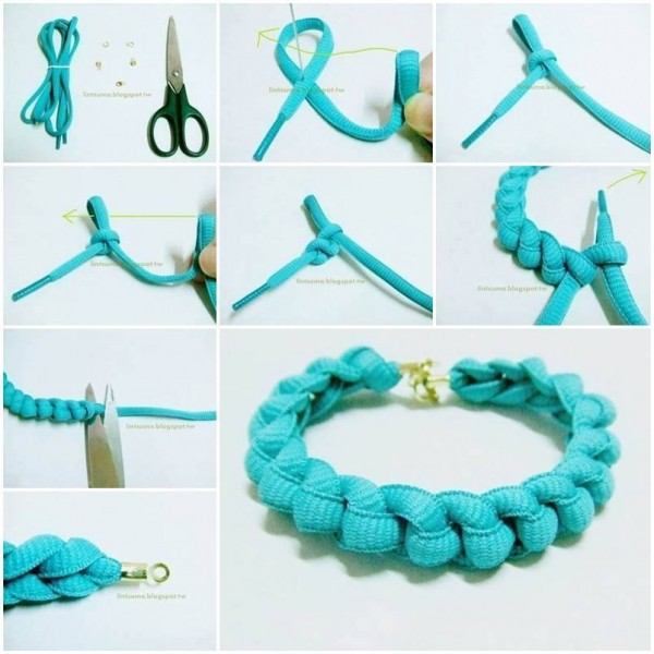 How To Make Bracelets With Shoelaces