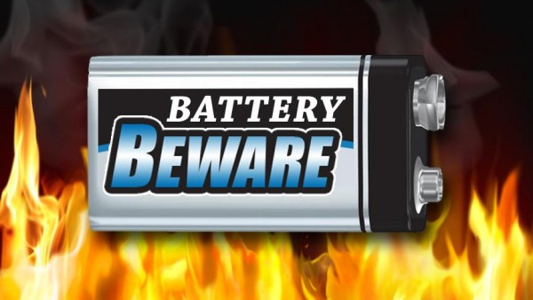 How To Prevent 9 Volt Batteries From Causing Fire 2
