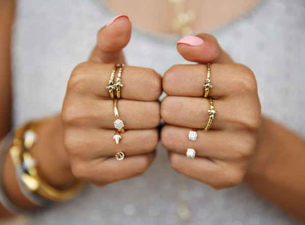 Meaning of Rings on Different Fingers