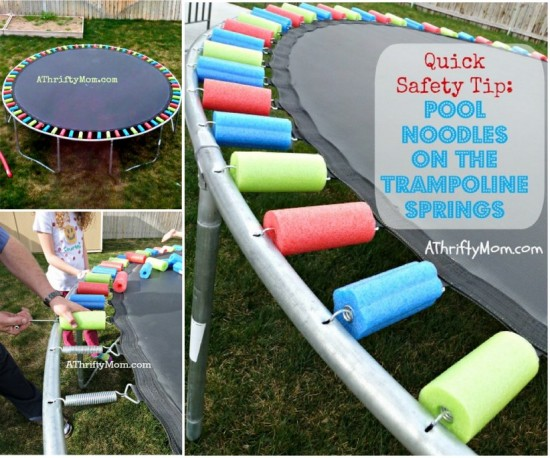 Pool Noodle Trampoline Safety Pad 1