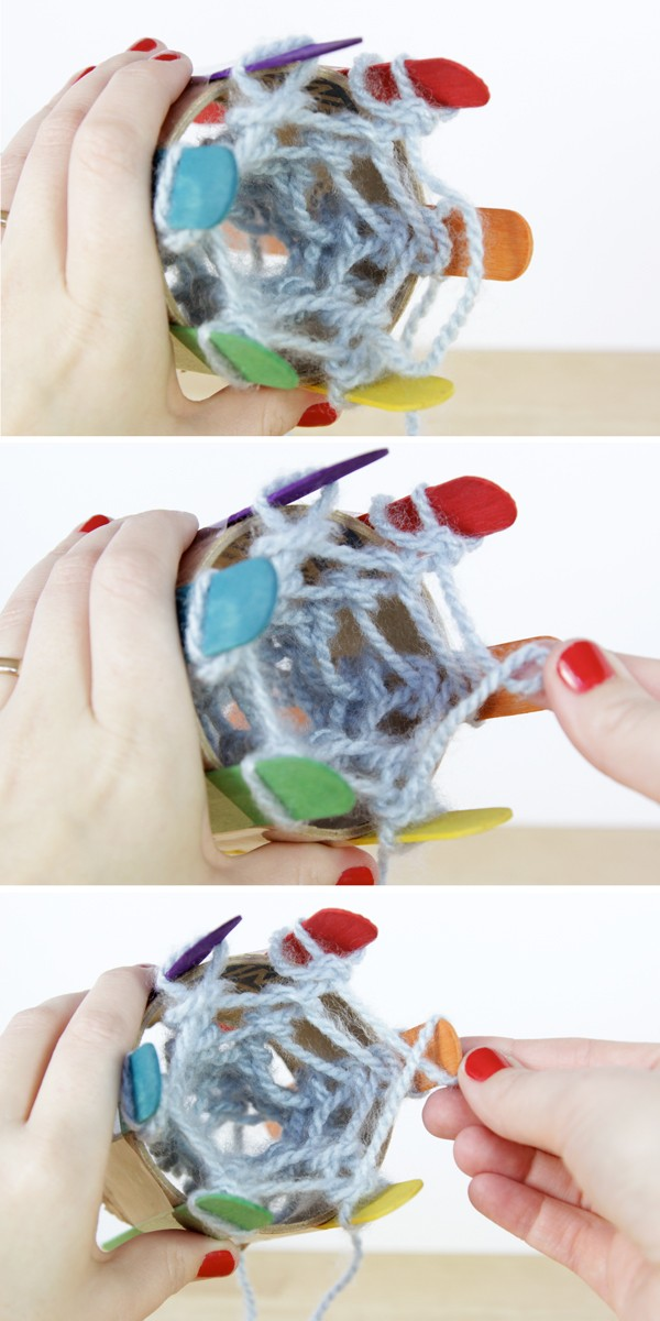 Popsicle Knitting Tutorial 3