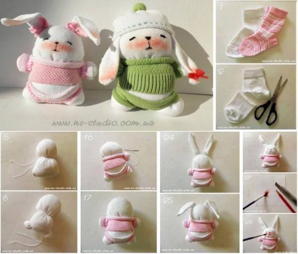 Sock Bunny Toys