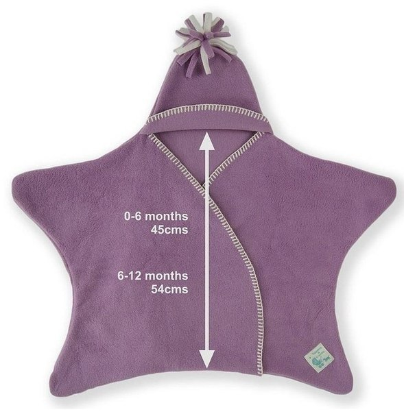 Star Fleece Baby Wrap 3
