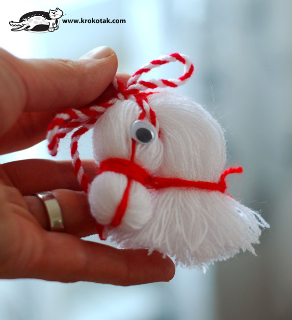 Thread Horse Head Tutorial 6