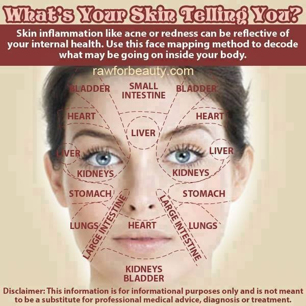 Acne Face Map - What's Your Skin Telling You