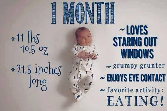 Baby Growth Chart 1