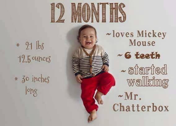 Baby Growth Chart 12