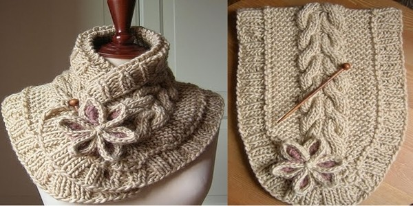 Beautiful Knit Scarf Free Pattern