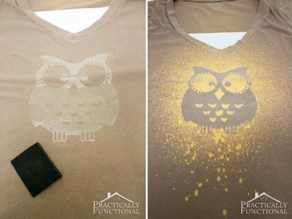 Bleach Spray Custom T-Shirts In Less Than 10 Minutes 2